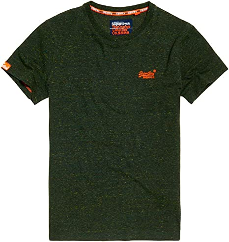 Superdry Mens Orange Label Vntge Emb S//S Tee Kniited Tank Top