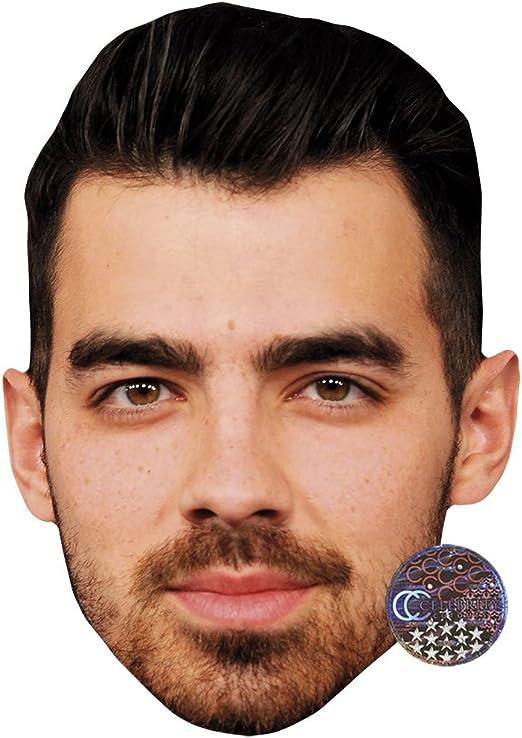 Kevin Jonas Celebrity Mask Card Face and Fancy Dress Mask