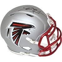 $169 » Deion Sanders Autographed/Signed Atlanta Falcons Blaze Mini Helmet BAS