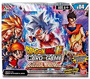 Asmodee BCLDBBO7832 Dragon Ball Super CG: Booster Pack B04 ...