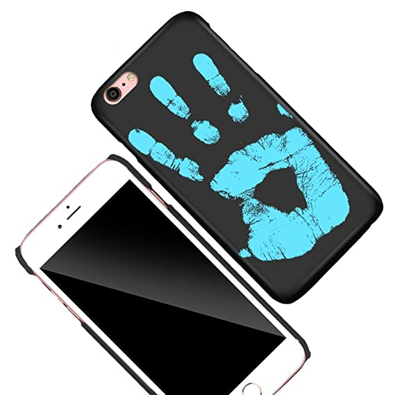 new concept 81163 db47a KOSBON Thermal Sensor Phone Case Heat Induction Color Changing Holster  Ultra-thin Hard PC Anti-scratch Cover Protective Shell for for IPhone