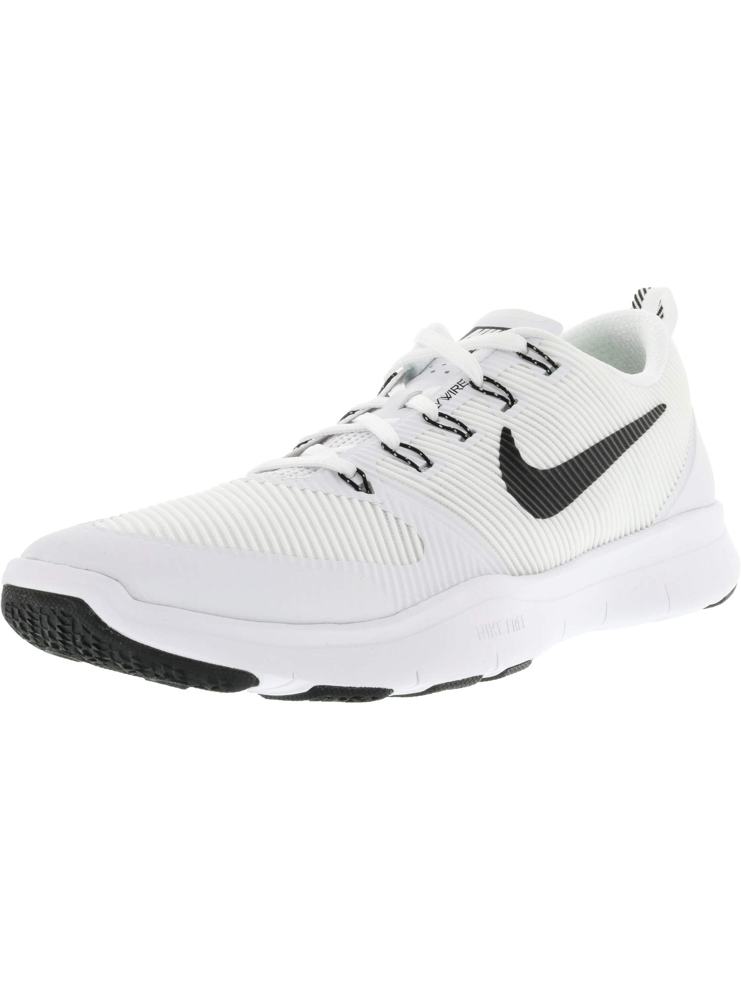 size 40 2ba2c 30331 Galleon - Nike Free Train Versatility TB Running Shoes 833257 100 White  Black Size 15