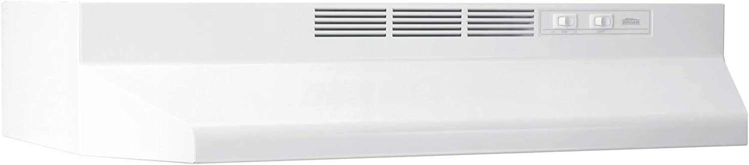 "B000I00SEU Broan-NuTone 413601 Ductless Range Hood Insert with Light, Exhaust Fan for Under Cabinet, White, 36"" 61z2BWdmGUEL"