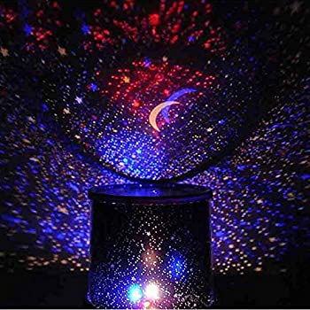 New dreamlike colorful star master night light novelty amazing led huayang chic design star sky led night light projector lamp decoration best giftrandom color mozeypictures Images