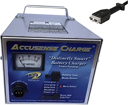 36volt 18amp Golf Cart Battery Charger with Anderson SB-50 connector