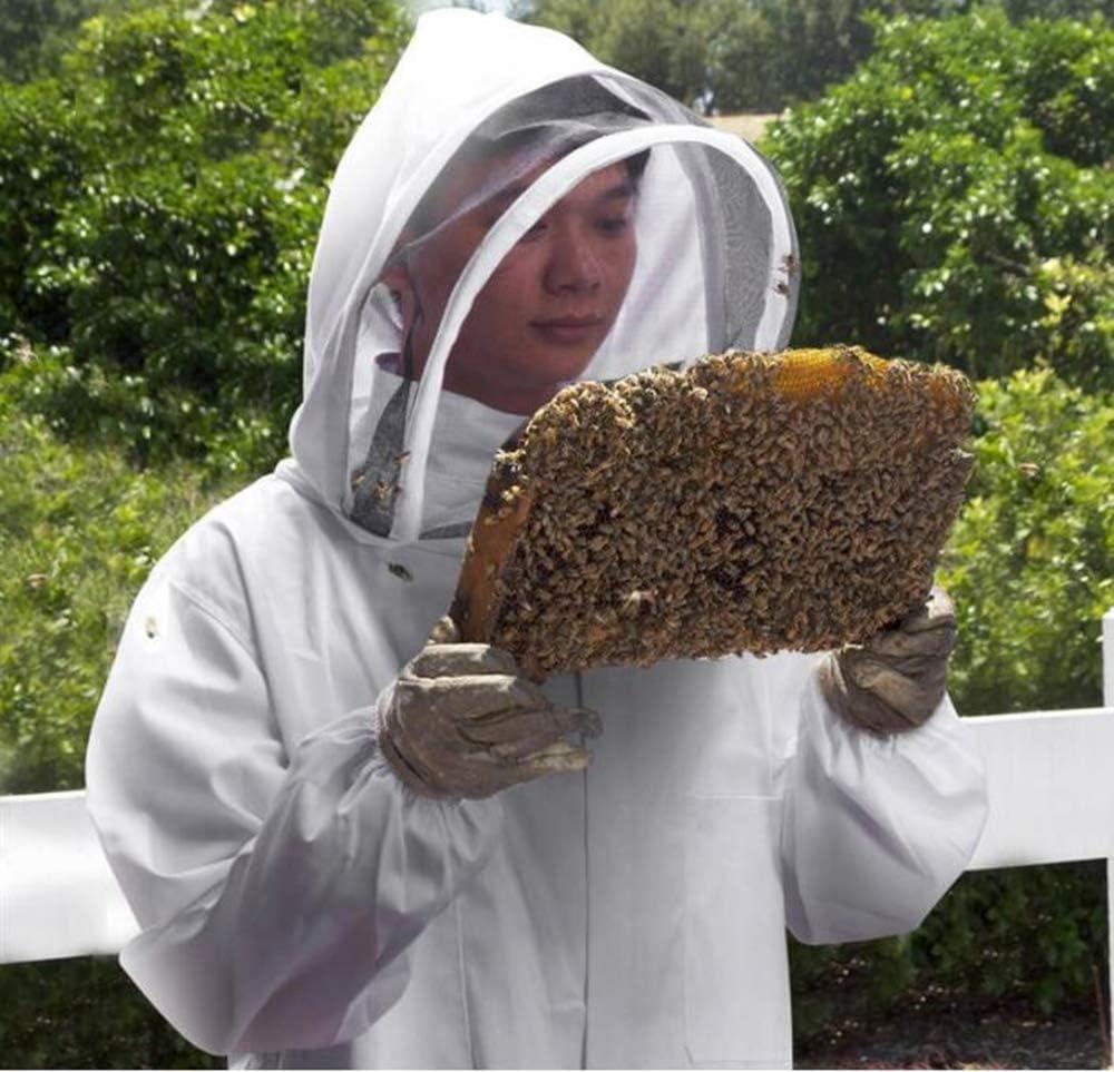 LTBEE Tuta da Apicoltore Professionale con Velo autoportante per apicoltori