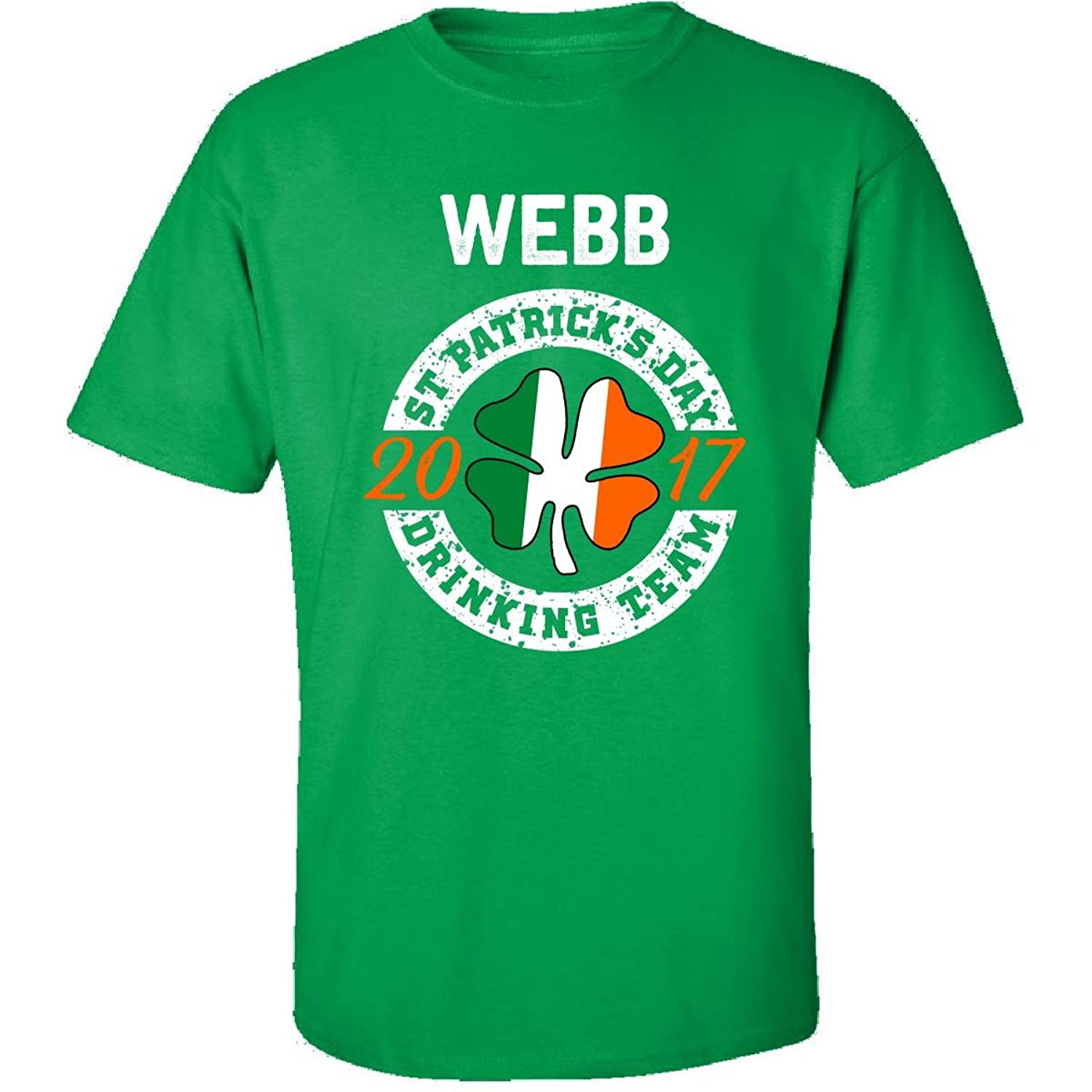 Webb St Patricks Day 2017 Drinking Team Irish - Adult Shirt