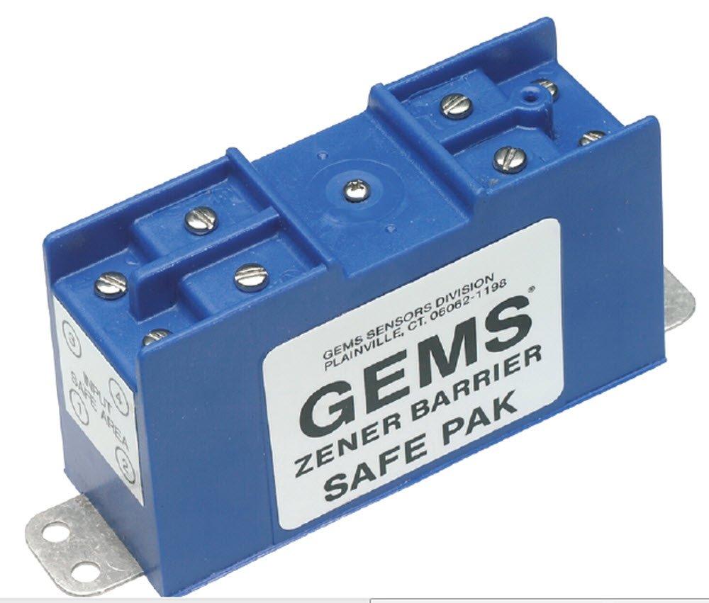 275 ohms Resistance Gems Sensors 54806 Dual Channel Zener Barrier 60 mA Current Gems Sensors /& Controls 30 VDC Voltage