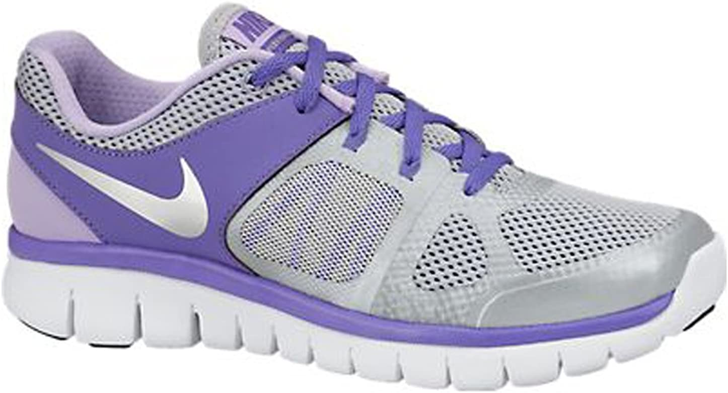 Nike Laufschuhe Flex 2014 Run (GS) Wolf Grey-Metallic Silver ...