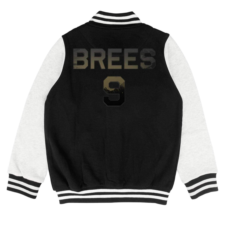Marinas MVP Drew Brees Kids Overcoa Fashion Baseball Jacket for 2-10 Y