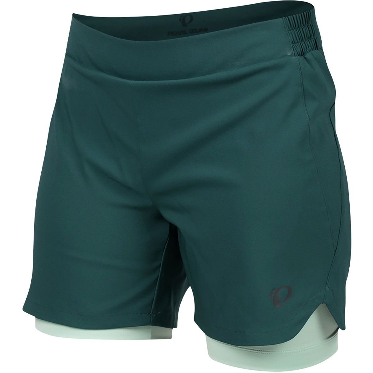 Pearl iZUMi W Journey Shorts, Sea Moss/Mist Green, 4
