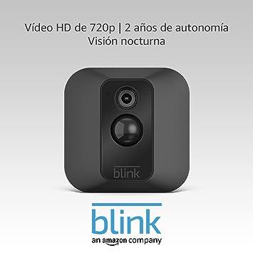 Blink XT Cámara de seguridad adicional para interiores, compatible con sistemas de seguridad Blink (