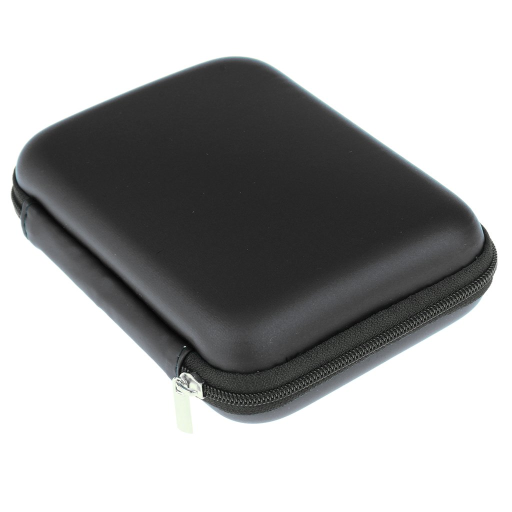 """Shockproof Carrying Travel Case for 2.5/"""" Portable External HDD MagiDeal"""