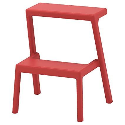 225 & Amazon.com: IKEA ASIA MASTERBY Step Stool Brown-red: Kitchen \u0026 Dining