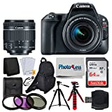 Canon EOS Rebel SL2 Digital SLR Camera + EF-S 18-55mm f/4-5.6 IS STM Lens + Sandisk Ultra SDXC 64GB 80MB/S Memory Card + Accessory Backpack + Flexible Tripod + UV Filters + Card Reader – Valued Bundle Review