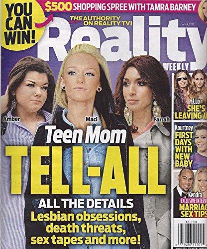Amber Portwood, Maci Bookout & Farrah Abraham (Teen Mom) - June 11, 2012 Reality Weekly