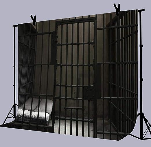 Amazon.com: Prisión Cell Bars fondo de fotografía, 7 x 5 ...