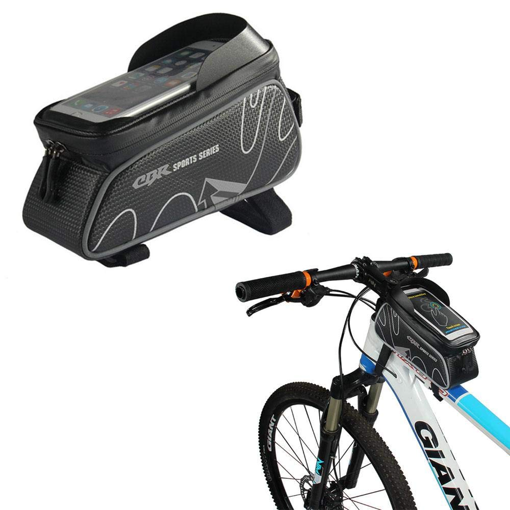 Amazon.com: Womdee Mountain Bike Frame Bag, Bicycles Top ...