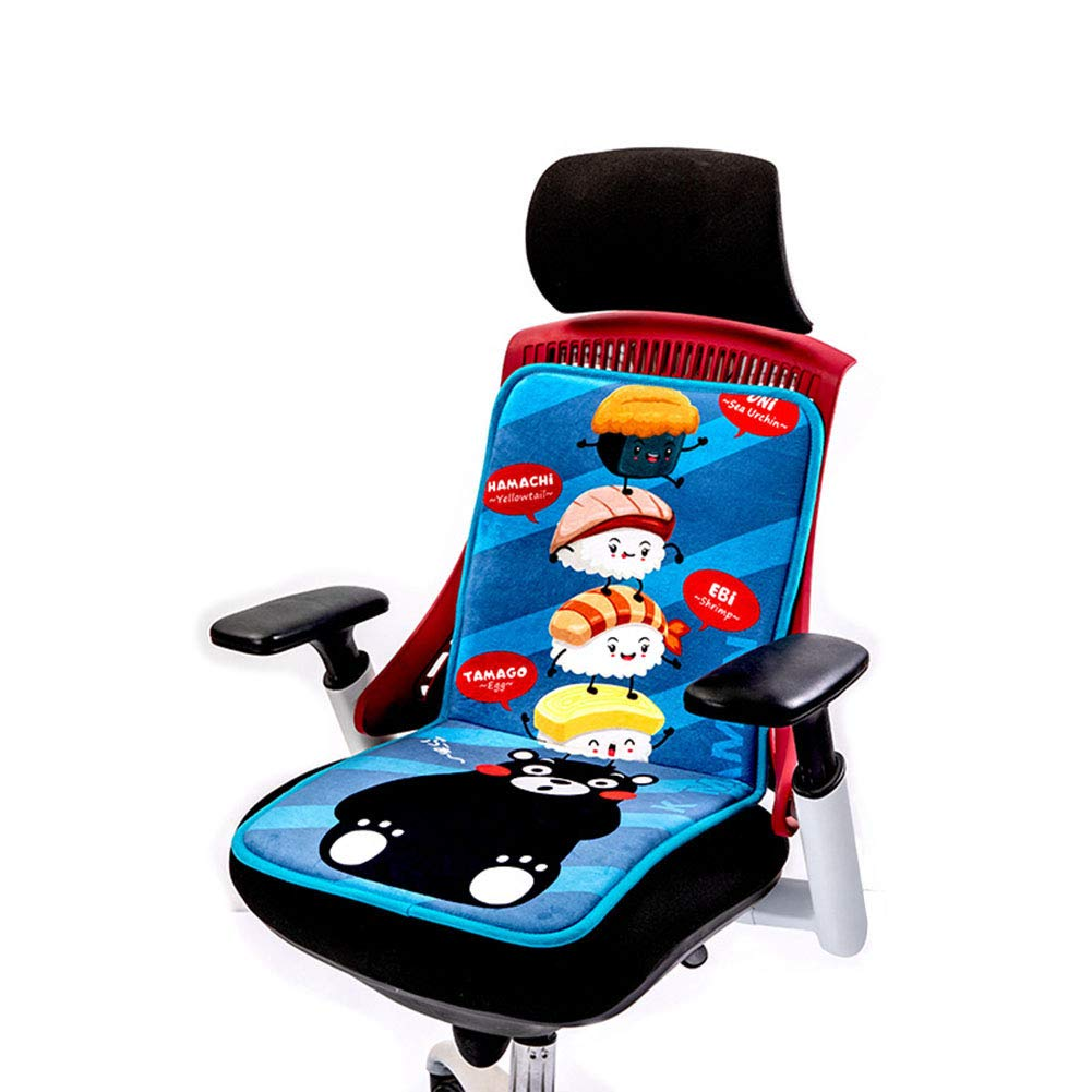 Office Back Electric Heating Mat Heated Chair Cushion Electric Blanket Winter Warm Pad Heating Pads Washed,D