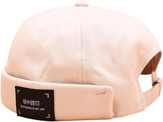 para mec/ánico Sombrero de moda sin visera estilo casual para hombre y mujer