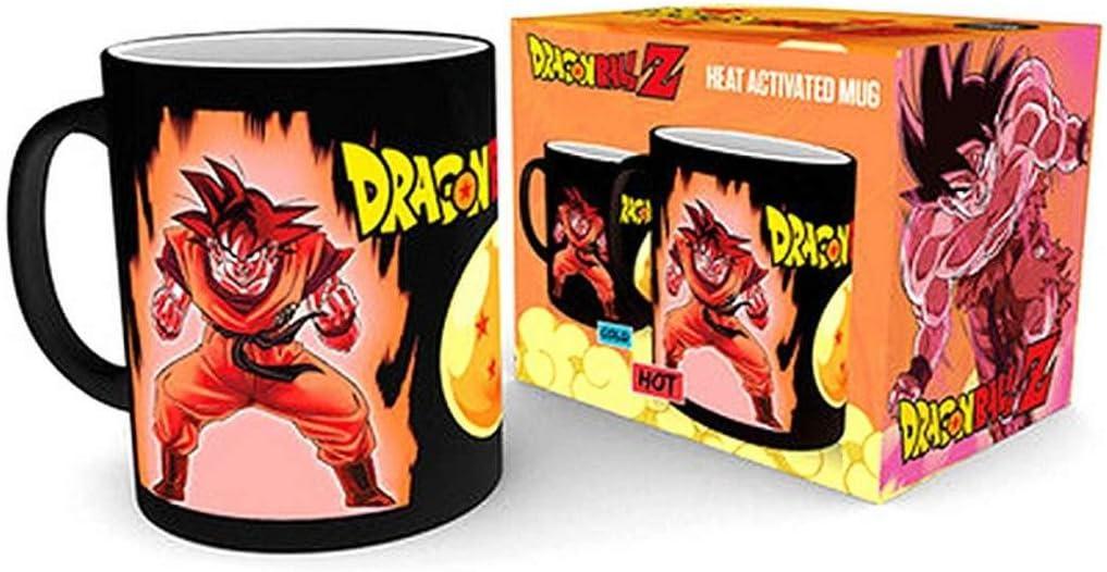 VEGETA neuf Abystyle DBZ Dragon ball Z magic MUG HEAT CHANGE 460 ML