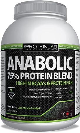 Anabolic Suero proteína 2,25 kg entrega gratis al día ...