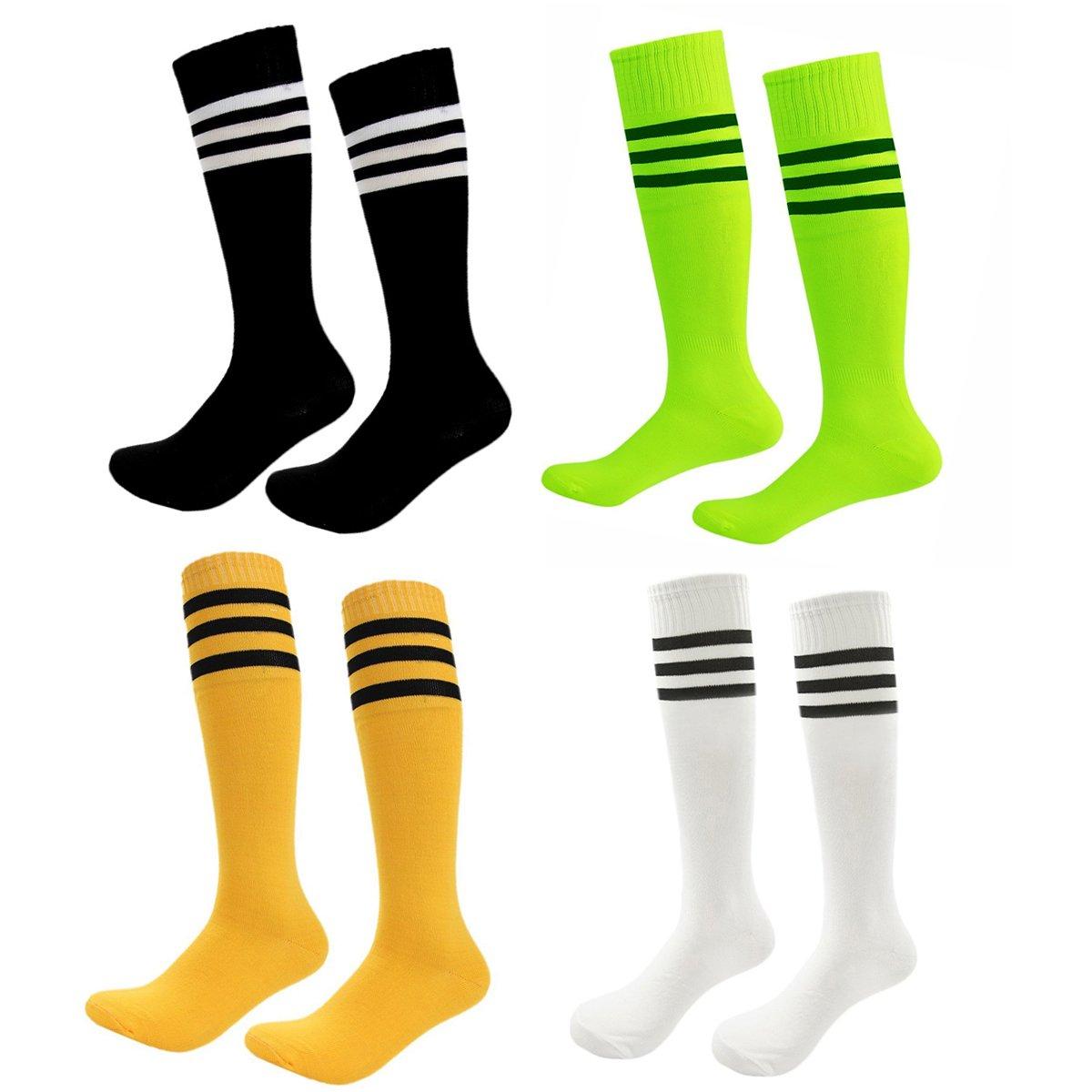 FoMann SOCKSHOSIERY ガールズ B076BXYLR7 Shoe size 1-5 and Ages 8-11|Rainbow4 Rainbow4 Shoe size 1-5 and Ages 8-11