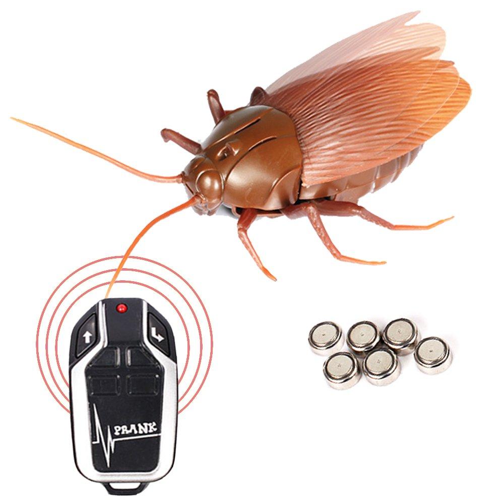 Amazon.com : Remote Control Cockroach Realistic Prank Cockroach No ...