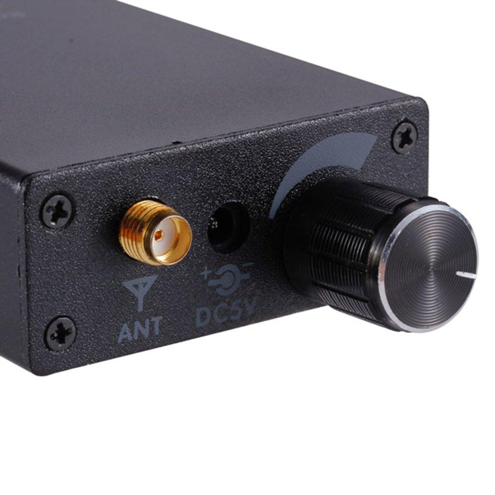 GF-LINK Bug Detector Anti Spy Amplification Signal Detector Spy Bug Camera Wireless Detectors GPS RF Scanner Finder QIHAN 4350443543