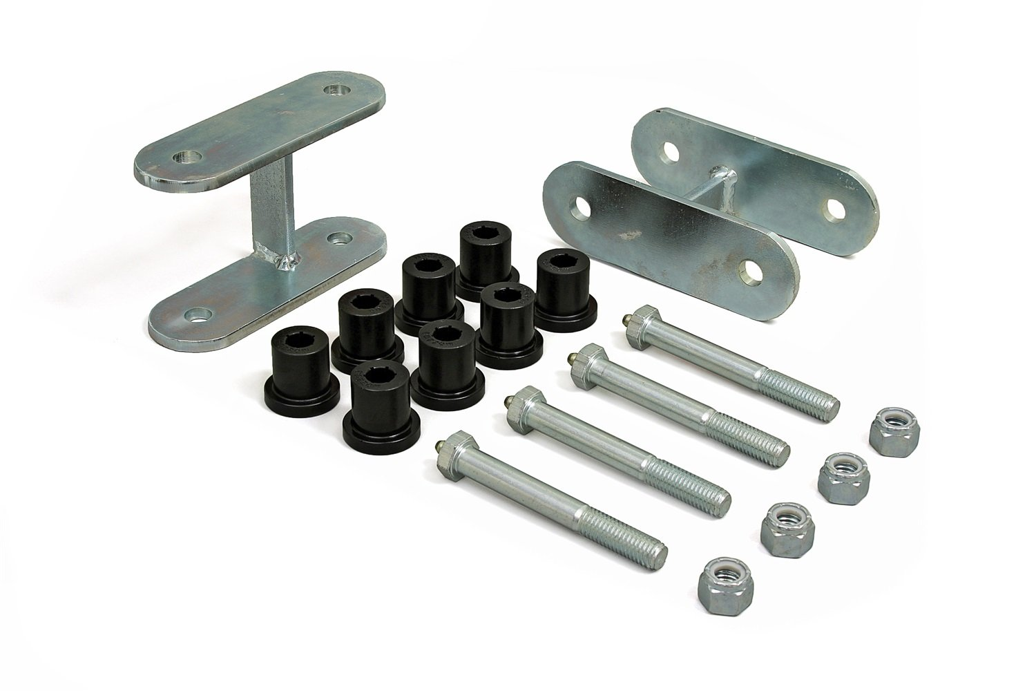 Daystar, Jeep CJ ½ Rear Lift Greasable Shackle, fits 1976 to 1986 2/4WD, KJ61005BK, Made in America