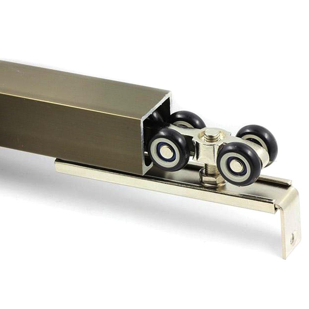 une paire par lot Liding Porte rouleau Poulie /à suspendre /à suspendre Mute Rail de roue balcon Porte coulissante 8/roues