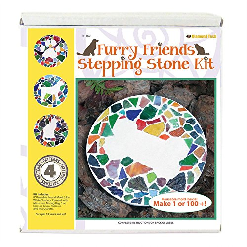 Furry Friends Stepping Stone Kit