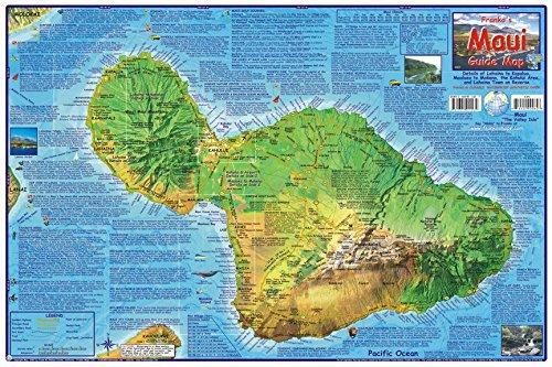 Maui Hawaii Adventure Map Franko Maps Laminated Poster PDF ePub book