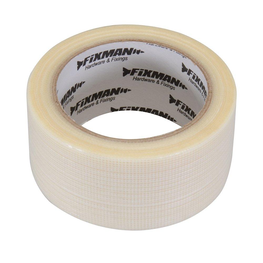 Fixman 190469 Heavy Duty Clear Duct Tape 50mm x 20m