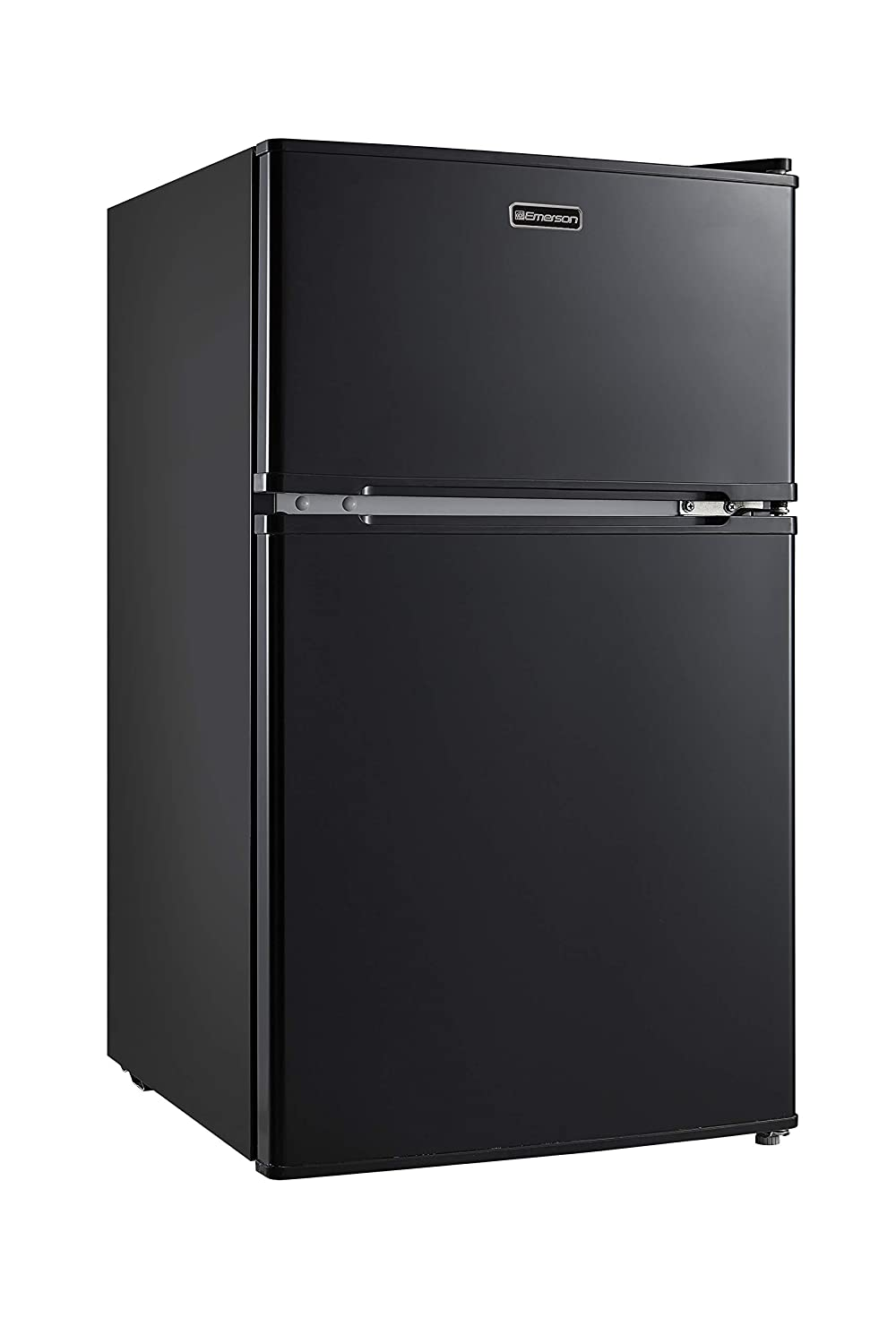 Emerson CR510BE 3.1 Cubic Foot Compact Double Door Refrigerator, Black
