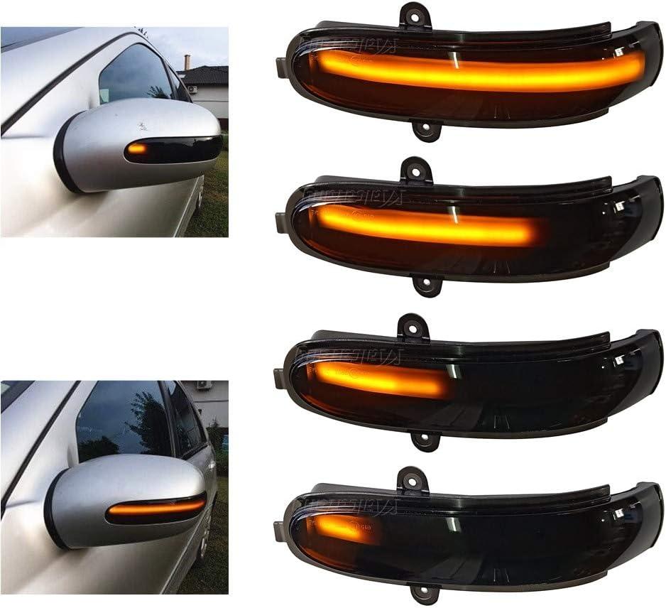 Blinker Blinker Seitenspiegel Dynamisch Blinker f/ür Ben-z C-Klasse W203 S203 CL203 2000-2007