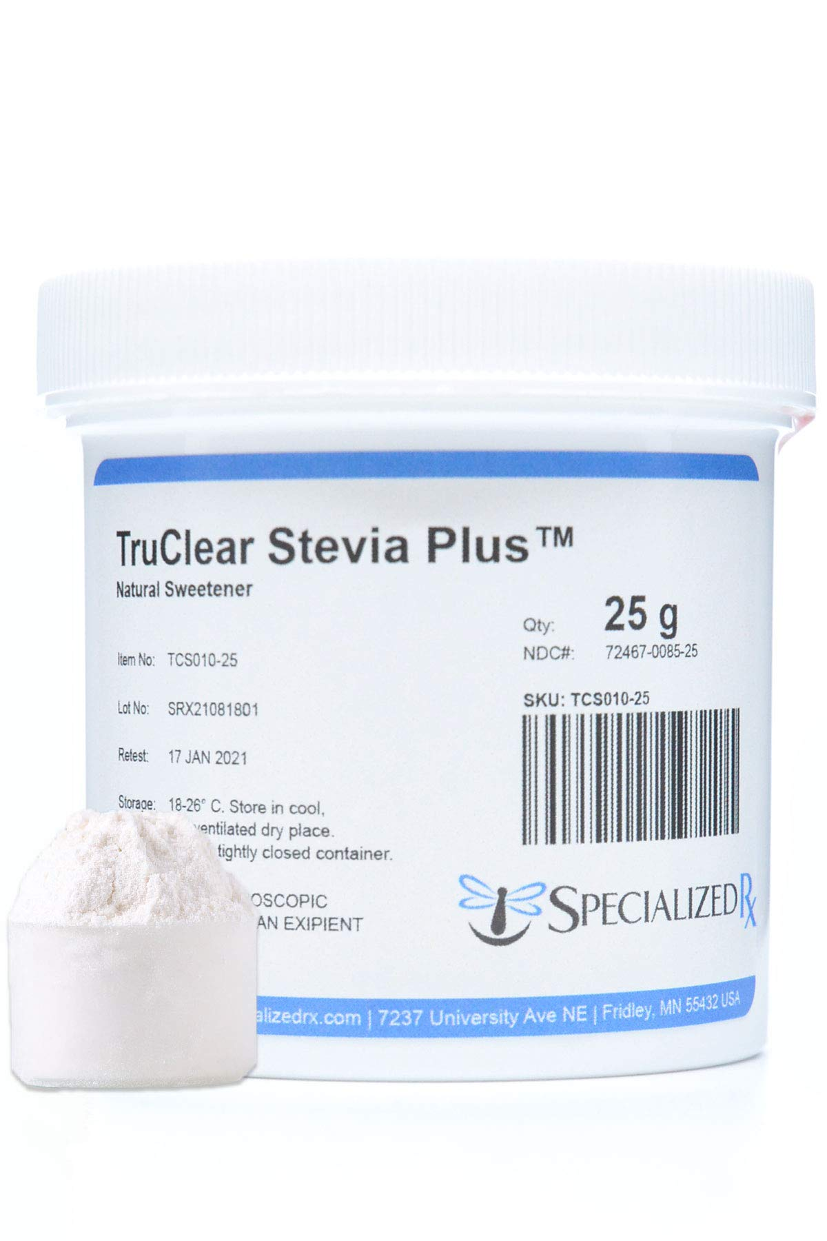 TruClear Stevia Plus Natural Sweetener (500g)