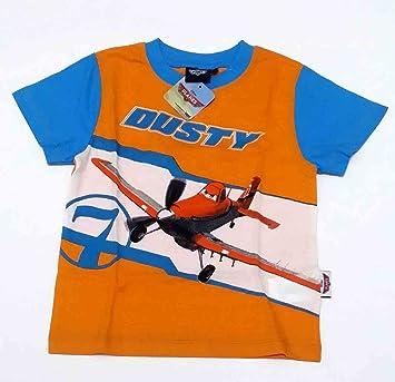 Camiseta Media Manga de algodón Disney Planes naranja 4 años ...