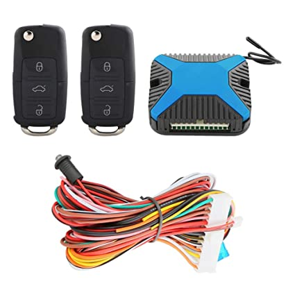 Amazon.com: EASYGUARD KE03B-YZ keyless Entry kit car Central ...