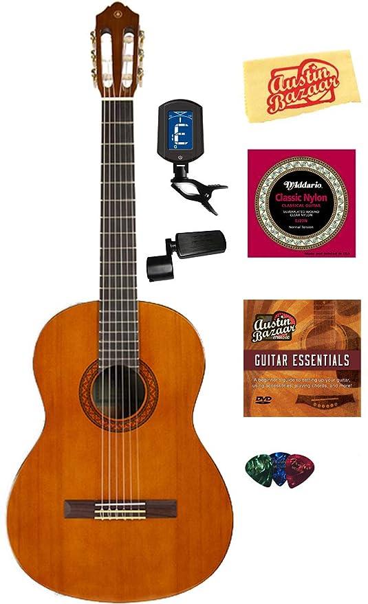 Amazon.com: Yamaha C40 Guitarra Acústica (cuerdas de nailon ...
