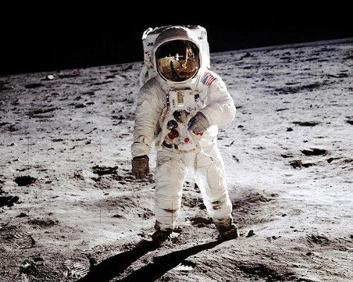 Apollo 11 Buzz Aldrin on the Moon 8x10 Silver Halide Photo Print