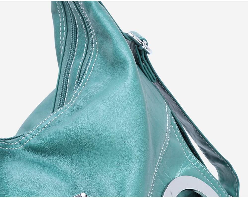Ysswjzz Multi Pocket, Sac à bandoulière décontracté for Femmes, Sac de Voyage Sac à Main Messenger for Faire du Shopping randonnée Usage Quotidien (Color : B) A