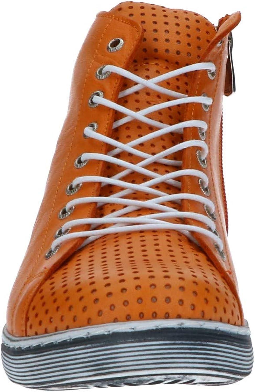 Kaufen Neuer Stil Billig und schön Andrea Conti Damen 0345728 Sneaker Orange M9hDT 24Kx5 DFm9v