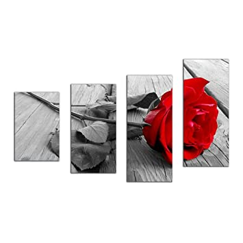 5D Diamond Red Rose Painting Embroidery Cross Stitch Kits Indoor Decor Craft