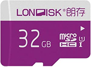 LONDISK 2 Pack Micro SD Card 32GB microSDHC Memory Card for Gaming/Dash cam/Yi Camer/GPS (32GB U1 2 Pack)