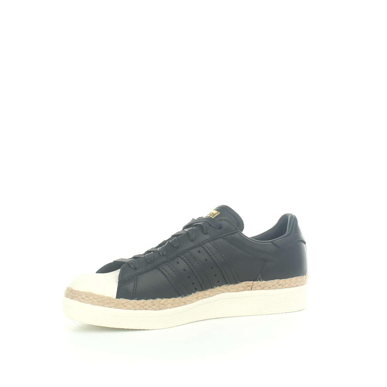 competitive price b8e54 bf85f adidas Originals Superstar 80S New Bold W, core Black-core Black-Off White   Amazon.co.uk  Shoes   Bags