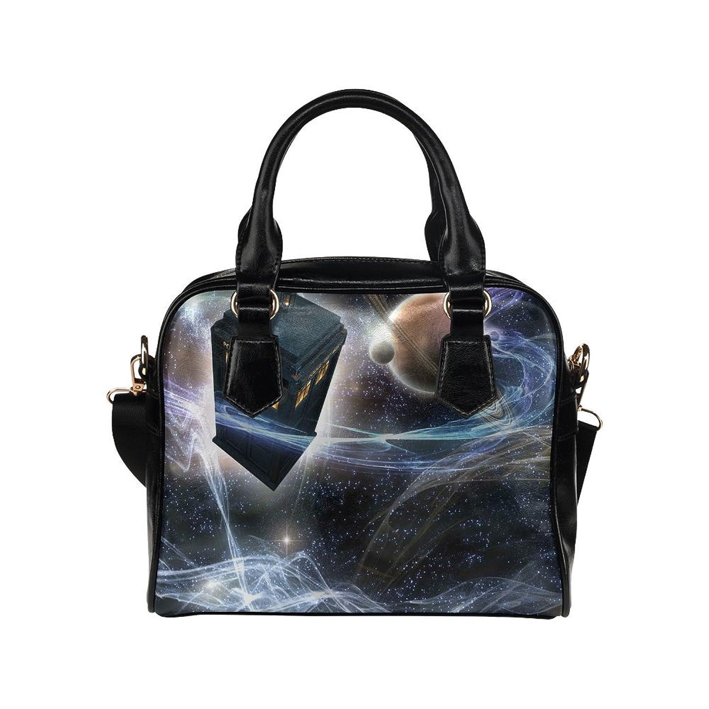 Fashion Tote Handbag Leather Doctor Who Shoulder Handbag