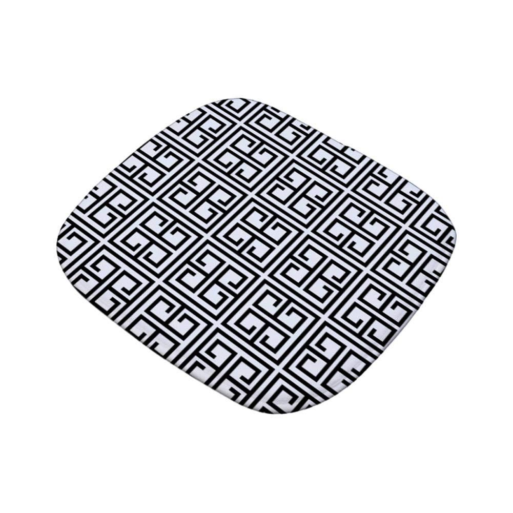 per Soggiorno Ufficio 40 x 40 cm A Cuscino Quadrato Antiscivolo per Sedia Patio per Interni ed Esterni Bledyi
