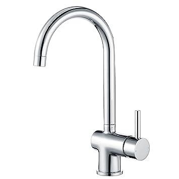 Peppermint Küchenarmatur 360°Schwenkbereich Hoher Auslauf Spültischarmatur  Spülenarmatur Einhebelmischer Küche Armatur Wasserhahn