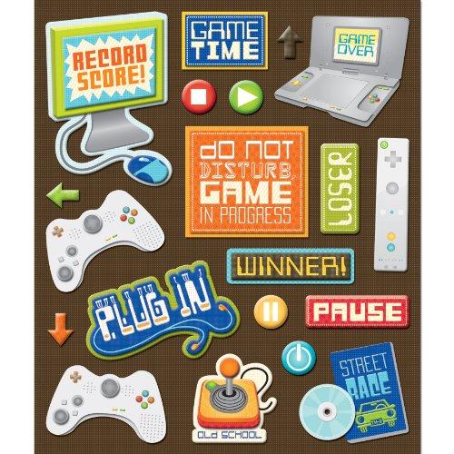 K&Company Video Games Sticker Medley (30-587267)